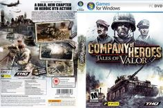 Company Of Heroes Tales Of Valor Genre : action/rts/strategy | DVD : 2 DVD | Price : Rp. 10.000,-  Minimum System Requirements: • OS: Windows® XP or Vista • Processor: SSE capable processor, 2.0 Ghz Intel Pentium IV or equivalent or AMD Athlon XP or equivalent. • Memory: 512 MB RAM. 1GB MB RAM required for Vista • Graphics: DirectX 9.0c compatible 64MB video card with Pixel Shader 1.1 support or equivalent and latest manufacturer drivers • Sound: DirectX® 9.0c compatible 16-bit sound card