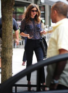 Miranda Kerr Leaves Industria Studios