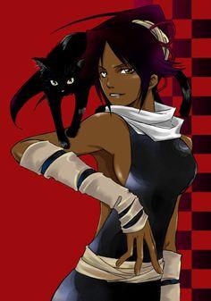 Yoruichi Bankai | Fan World - Shihôin Yoruichi (Bleach) | monkeyjack.blog.jeuxvideo.com