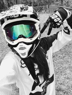 valentines day hair Inspiring Ideas x - Dirt Bike Girl, Motorcycle Dirt Bike, Dirt Biking, Motocross Girls, Cute Love Couple, Cafe Racer Build, Fox Racing, Riding Gear, Dirtbikes