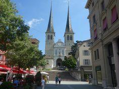 kostel sv.Leodegar v Luzern