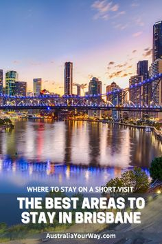 Best Areas to Stay in Brisbane on a Short Visit | Australia Your Way #Queensland #Brisbane Brisbane Queensland, Queensland Australia, Western Australia, Visit Australia, Australia Travel, Things To Do In Brisbane, Great Barrier Reef, Best Cities, Tasmania