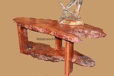 Burl Furniture - Live edge natural wood furniture   Littlebranch Farm