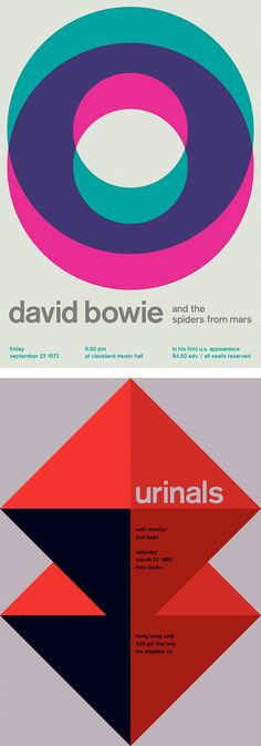 Swissted: Rock Posters by Mike Joyce | Inspiration Grid | Design Inspiration Berthold Akzidenz-Grotesk Medium