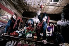 """Noulla's bassist Rin departed on April 13th but has now been replaced by ENA. You find pictures of the new lineup and look below. Noulla will release their new single """"nisshoku"""" (日食) on…"""
