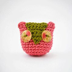 - mine would not be pink but this little owl is stil wicked cute!