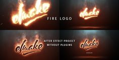 Fire Logo (Fire) #Envato #Videohive #aftereffects