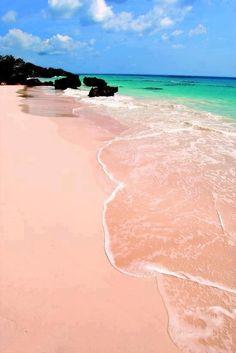 Playa de Arena Rosa, Bermuda