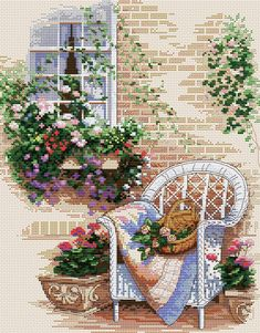 Stamped Embroidery Patterns Embroidery Pattern Fabric Only Printed Embroidery Pattern Modern Hand Embroidery Stamped Cross Stitch Pattern Stamped Embr. Cross Stitch House, Cross Stitch Kits, Cross Stitch Charts, Hand Embroidery Stitches, Cross Stitch Embroidery, Embroidery Patterns, Funny Cross Stitch Patterns, Cross Stitch Designs, Cross Stitch Landscape