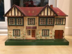 Vintage Triang dolls house containing dol toi furniture , in Dolls & Bears, Dolls' Miniatures & Houses, Dolls' Houses Fairy Houses, Doll Houses, My Doll House, Miniature Houses, Tiny Living, Adolescence, Vintage Dolls, Home Projects, Childhood Memories