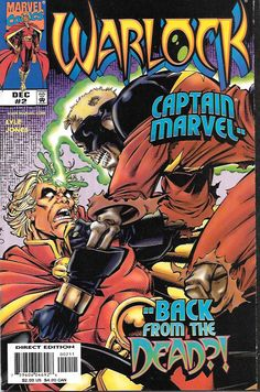 Afterlife _Written by Tom Lyle. Art and cover by Tom Lyle and Robert Jones , The perpetrator of last issue's murder stands revealed...and neither you nor Adam Warlock will believe your eyes! Now the w