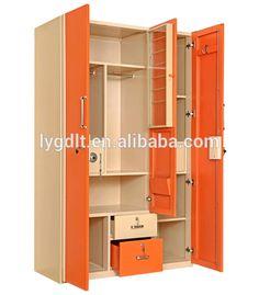 ideas for closet door storage ideas cupboards Closet Door Storage, Bedroom Storage Cabinets, Bedroom Cupboard Designs, Wardrobe Design Bedroom, Bedroom Bed Design, Small Bathroom Storage, Bedroom Small, Wardrobe Storage, Tv Cabinets