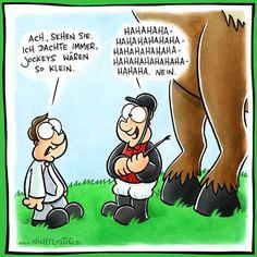 Jockey / klein   #fun #nichtlustig #jockey #comic #text