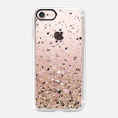 Gold Pink Black and White Party Confetti Explosion  - Classic Grip Case