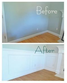 Wainscoting - click for a tutorial
