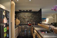 Steenstrips in de Keuken of Buitenkeuken - Foto's