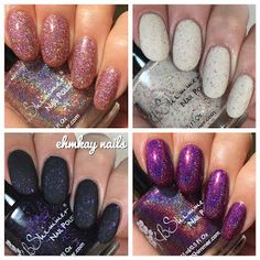 ehmkay nails: KBShimmer Fall 2016 Preview, Swatches and Review