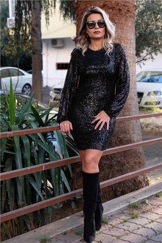 Pullu Bilek Kısmı Lastikli ElbiseKumaş Cinsi  :%100 PolyesterModelin Ölçüleri : 1.68cm / 36 BedenModelin Üstündeki Beden :SmallÜrünleriniz 1-3 İş günü İçinde Kargoya Verilmektedir.Yıkama Talimatı:Ürünün iç etiket bölümünde gerekli yıkama talimatı yer almaktadır. The Dress, Dresses With Sleeves, Long Sleeve, Sweaters, Fashion, Moda, Sleeve Dresses, La Mode, Sweater