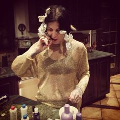 Always a leader in style, fashion, and class, @Kat Von D is living on the cutting edge!!! [January 7th, 2014 via Tony]