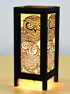 Decorative Lamp Thai Vintage Handmade Asian Oriental Night Owl Bedside Table Light Floor Wood Paper Lamp Shades Home Bedroom Garden Decoration Modern Design I Love Handicraft http://www.amazon.com/dp/B00VESZE5I/ref=cm_sw_r_pi_dp_AzORvb1AXVDF1