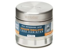 Klean Kanteen Food Behälter Doublewall, Silber, 236 ml, 100582