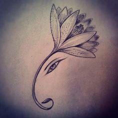 f You Think Ganesha Tattoos are Boring Then These 16 Pictures Will Change Your Mind Ganesh Tattoo, Ohm Tattoo, Hindu Tattoos, Lotus Tattoo, Body Art Tattoos, Symbol Tattoos, Samoan Tattoo, Polynesian Tattoos, Tattoo Ink