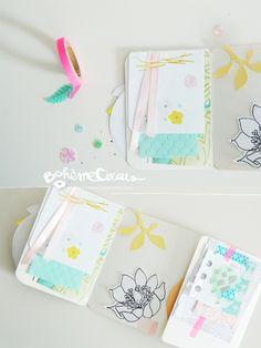 12 tiny envelopes free printable by bohme circus do it myself mini summer mood book bohmecircus solutioingenieria Gallery
