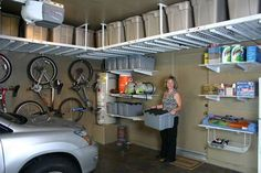Overhead Garage Storage | Overhead Storage Photos - Asheville, NC | Greenville, SC | Spartanburg ...