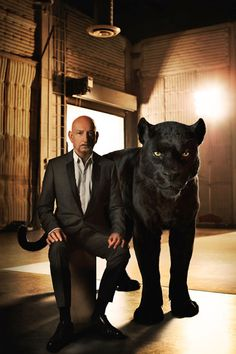 cc21b490d3 Sir Ben Kingsley   Bagheera Bagheera is a sleek panther who feels it s his  duty to help the man-cub depart with dignity when it s time.