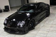 2008 Mercedes CLK63 Black Series #windscreen http://windblox.com #winddeflector