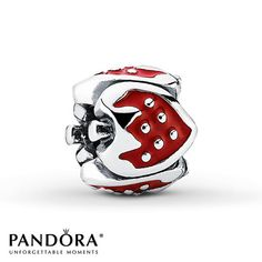 Pandora Charm Strawberry Sterling Silver