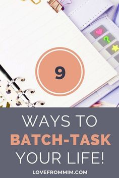 Do you feel that no matter what you do, you just can't be productive? You need to try batch tasking! Here are 9 must-have ways to batch task for busy moms Work From Home Tips, Printable Planner Stickers, Transform Your Life, Planner Organization, Getting Things Done, Time Management, Business Tips, Social Media, Invitations