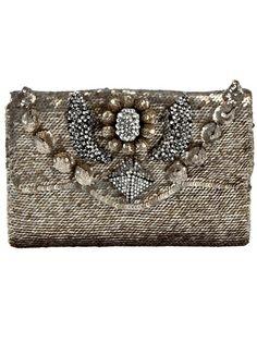 SHOUROUK Sequin Clutch Bag