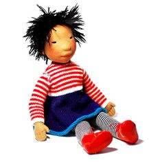 Mitsue  Handmade cloth doll by AldegondeCeelen on Etsy, $350.00
