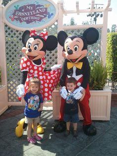 "Celebrate your Birthday with a ""My Disneyland Birthday celebration"""