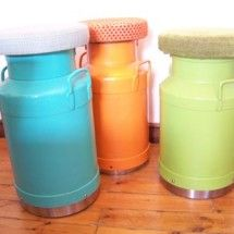 """I'd take a few of these """"stools"""" any day for my new craft studio! #recreate #katiethompson"""