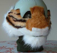Tiger head part 5