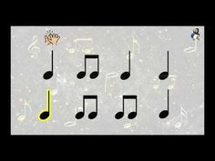 """Actividad rítmica """"Melody of Happiness"""" - YouTube Online Music Lessons, Music Online, Music Class, Music Education, Music Flashcards, Rhythm Games, Music And Movement, Primary Music, Music Activities"""