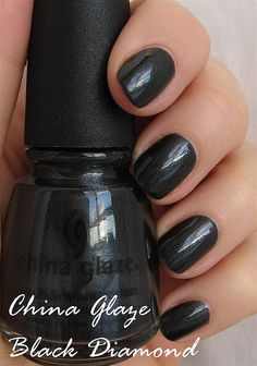China Glaze Black Diamond