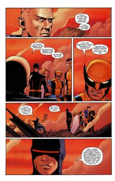Xavier being a jerk.