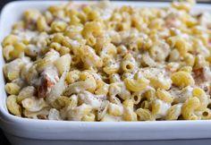 Rachel Schultz: Blue Cheese, Bacon & Roasted Pear Macaroni