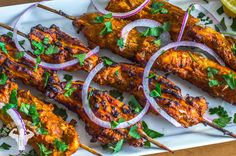 Lean Tandoori Chicken Kabobs Chicken, Meal Prep, Video Fit Men Cook Built in the Kitchen; Sculpted in the Gym.