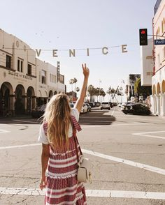 Peace signs up for Venice . Venice Beach California, California Travel, Places Around The World, The Places Youll Go, Places To Go, Around The Worlds, Adventure Awaits, Adventure Travel, San Diego