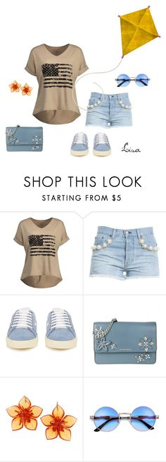 """High as a Kite"" by coolmommy44 ❤ liked on Polyvore featuring Forte Couture, Yves Saint Laurent, MICHAEL Michael Kors and Dsquared2"