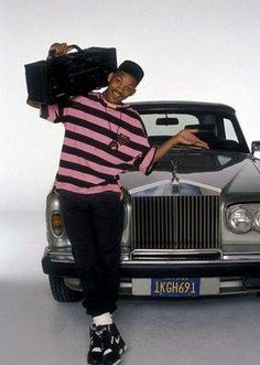 Will Smith, the FRESH PRINCE OF BEL AIR --had one of these guys on the corner in Ohio takes me back :)