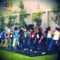 Bailetón en la #SemanaUniversitariaUCAL