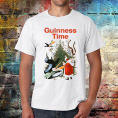 Guinness time Tshirt  Christmas tee  Guinness tee  vintage