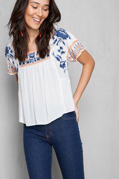 blusa manga oriente | Dress to