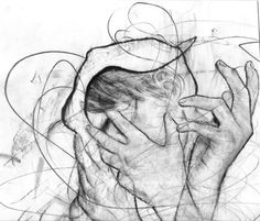 evocative..deep feeling in this drawing!