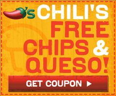 Join Chili's E-Mail Club